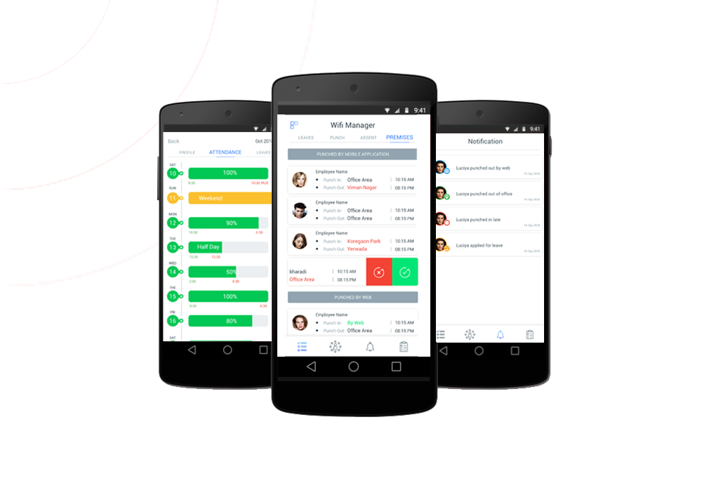 The Best Employee Time Tracking App - WiFi Attendance
