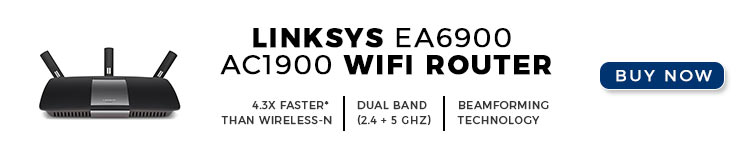 Linksys EA6900 AC1900 Wi-Fi Router