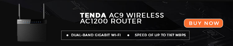 Tenda AC9 Wireless AC1200 Router