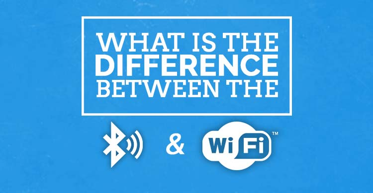 What is the difference between the bluetooth and wifi